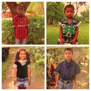 Edmond, Paromika, Tania, and Brayan