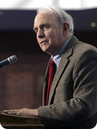 Image of Frederick Buechner from buechnerinstitute.org.